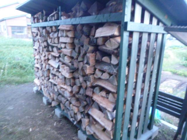 薪小屋満タン