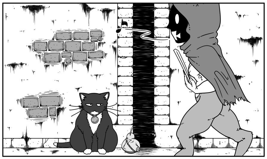 創作4コマ漫画その351
