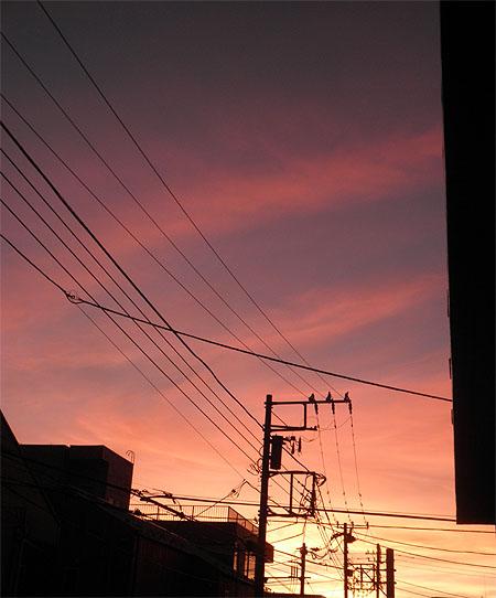 20130916夕焼け