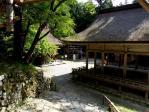東本宮への道