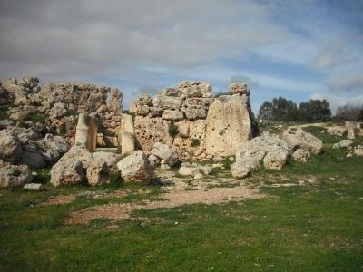 ゴゾ島のジュガンティーヤ神殿