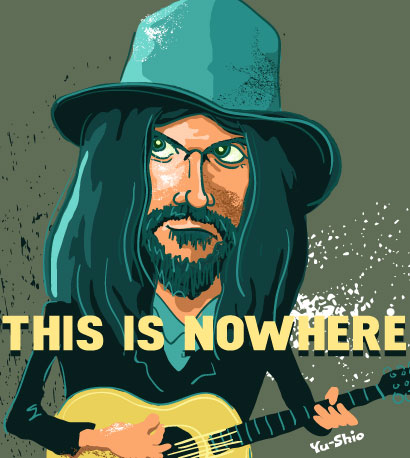 Neil Young caricature
