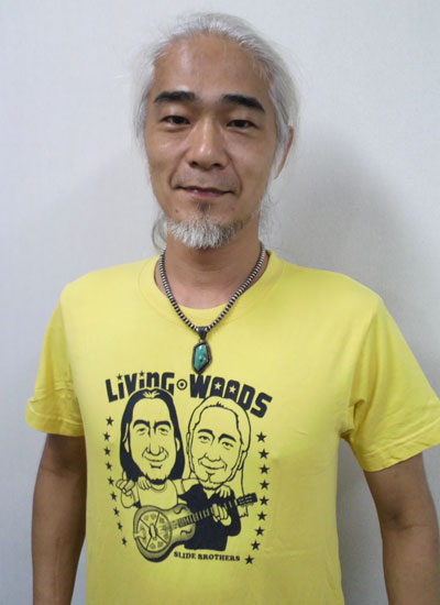 住友俊洋さん Living Woods EverydayRock T shirt
