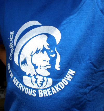 Brian Jones EverydayRock T Shirt Caricature