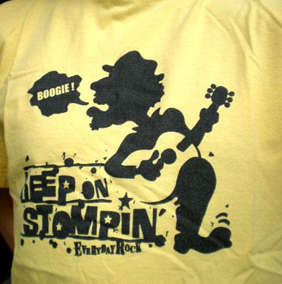 Blues EverydayRock T Shirt Caricature