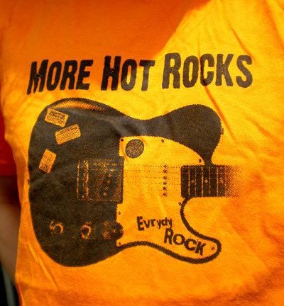 Fender Telecaster EverydayRock T Shirt Caricature