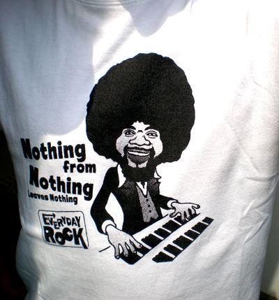 Billy Preston EverydayRock T Shirt Caricature