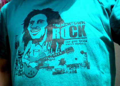 Bob Marley EverydayRock T Shirt Caricature