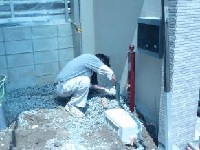 北側 立水栓4