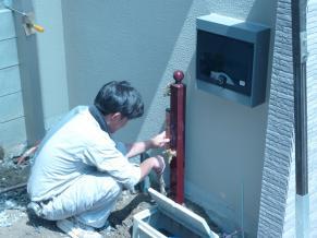 北側 立水栓3