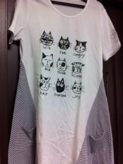 201305猫Tシャツ