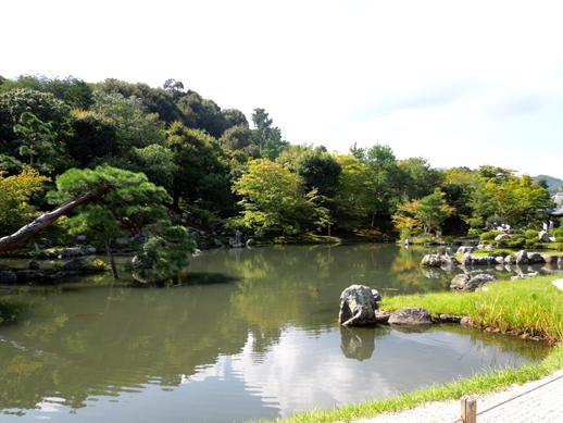 天龍寺 曹池庭園