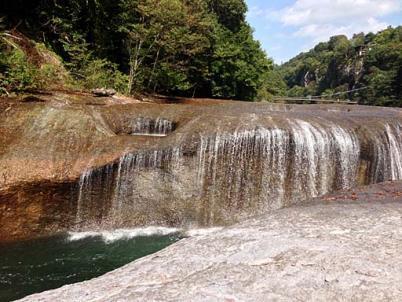 吹割りの滝3