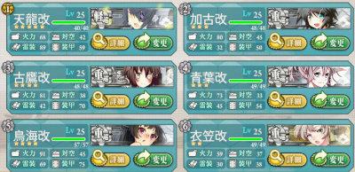 新「三川艦隊」レベル25