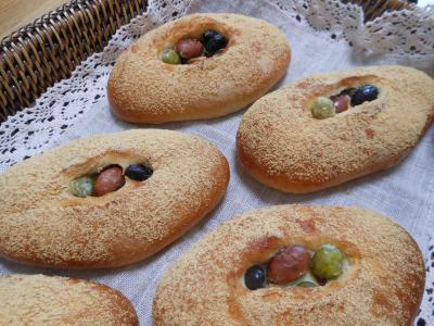 P_お豆パン