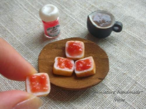 いちごジャム食パン6
