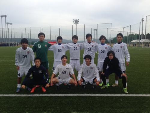 Iリーグ中国2013 プレーオフ③ A-IPU(2013:11:9 土)1/2