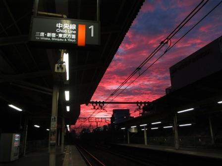 2013.10.8朝焼け