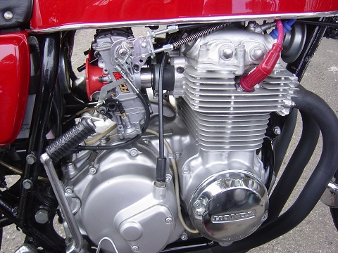 CB400キャブ