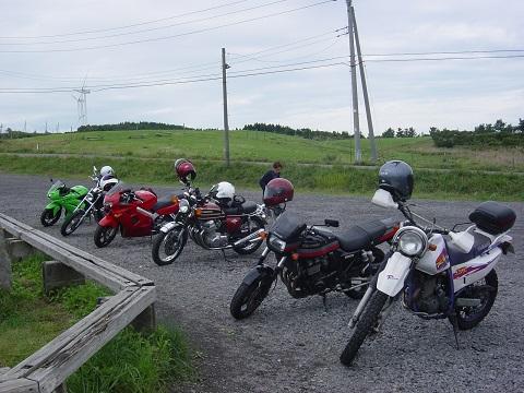 土田牧場バイク