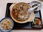 味噌煮込みうどん定食@だるま堂支店