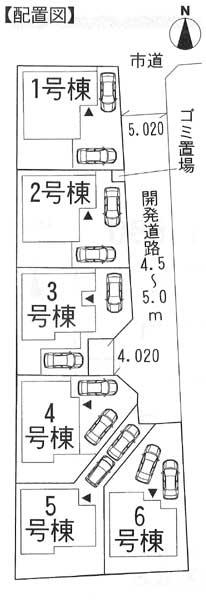 成田3期配置図
