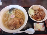 新満福 上焼チャーシュー丼定食 13.11.4