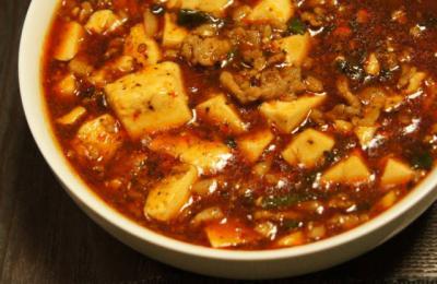 陳・麻婆豆腐 大鉢盛り