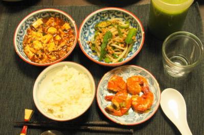 四川三品の夕食