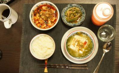 醸蝦豆腐のブランチ