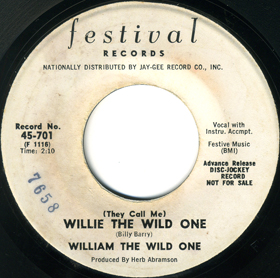 williethewildone