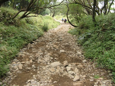 H260916-06石の多い登山道-s