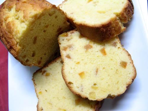あまなつピールのパウンドケーキ-1