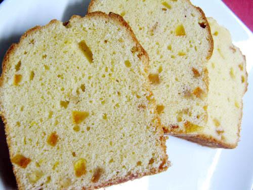 あまなつピールのパウンドケーキ-2