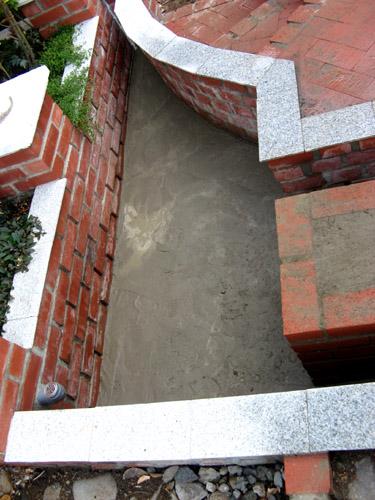 底のコンクリート打ち-6