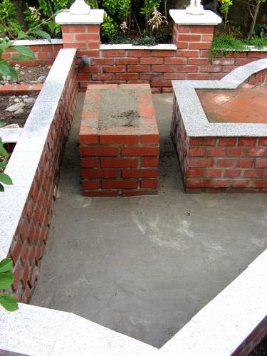 底のコンクリート打ち-7