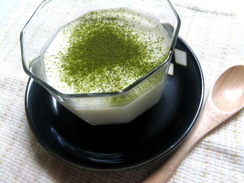 緑茶プリン-1