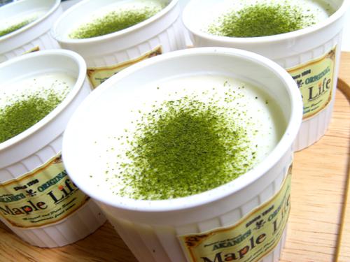 緑茶プリン-3