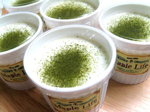 緑茶プリン-4