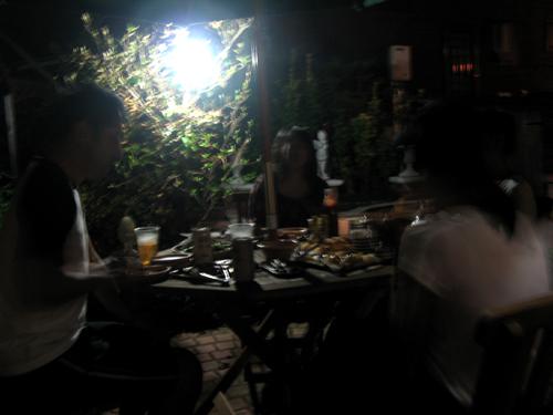 夜の庭-3