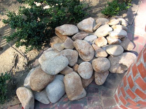 河原の石探し-4