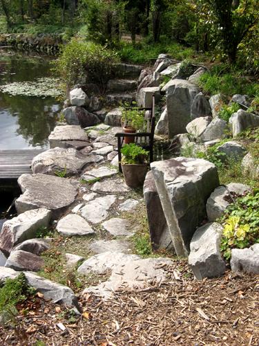 軽井沢レイクガーデン石と砂利-4