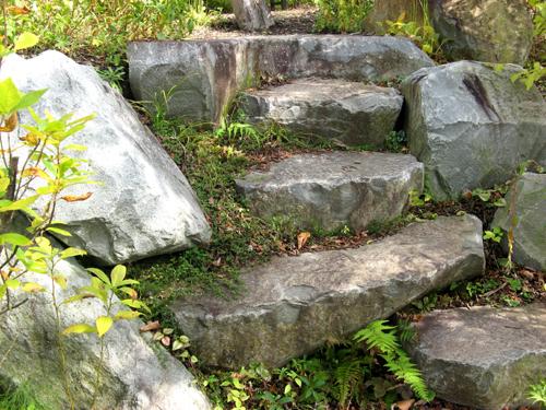 軽井沢レイクガーデン石と砂利-5