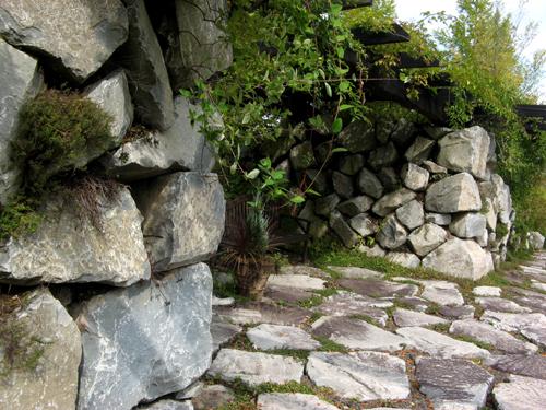 軽井沢レイクガーデン石と砂利-7