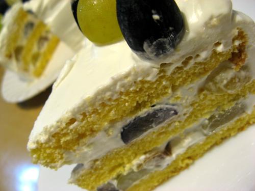 ブドウのシンプルケーキ-3