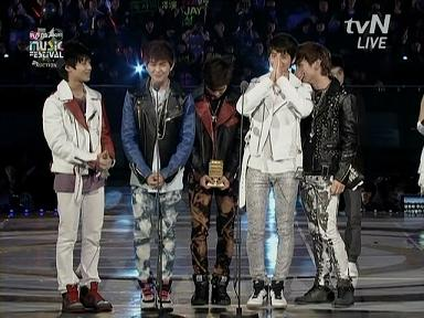 SHINee 2008GDA crying