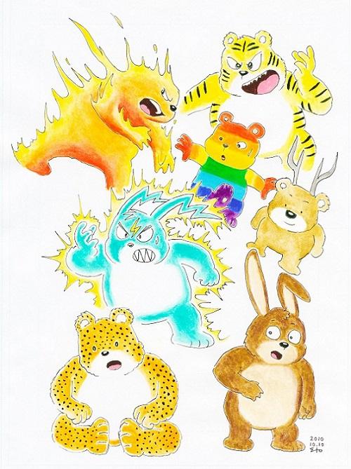 改造熊7態 2010.10.10