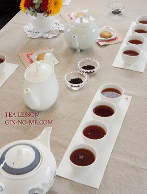 紅茶教室 紅茶と水 銀の芽