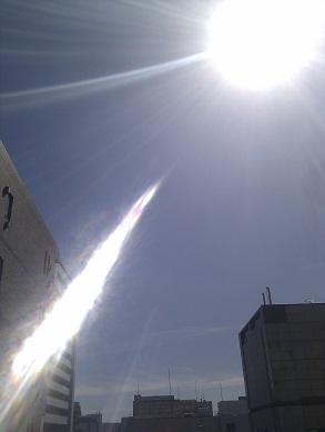 20130918東京の天気は晴れ