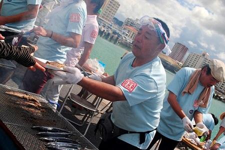 秋刀魚収穫祭3